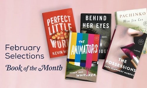 Photo of February 2017 selections for Book of the Month