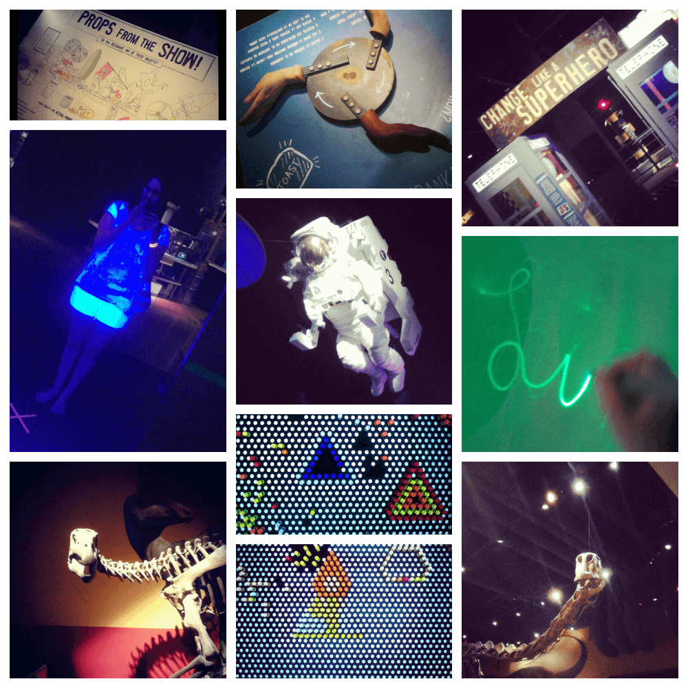 Fort Worth Museum of Science and History: Collage of December 2014 visit