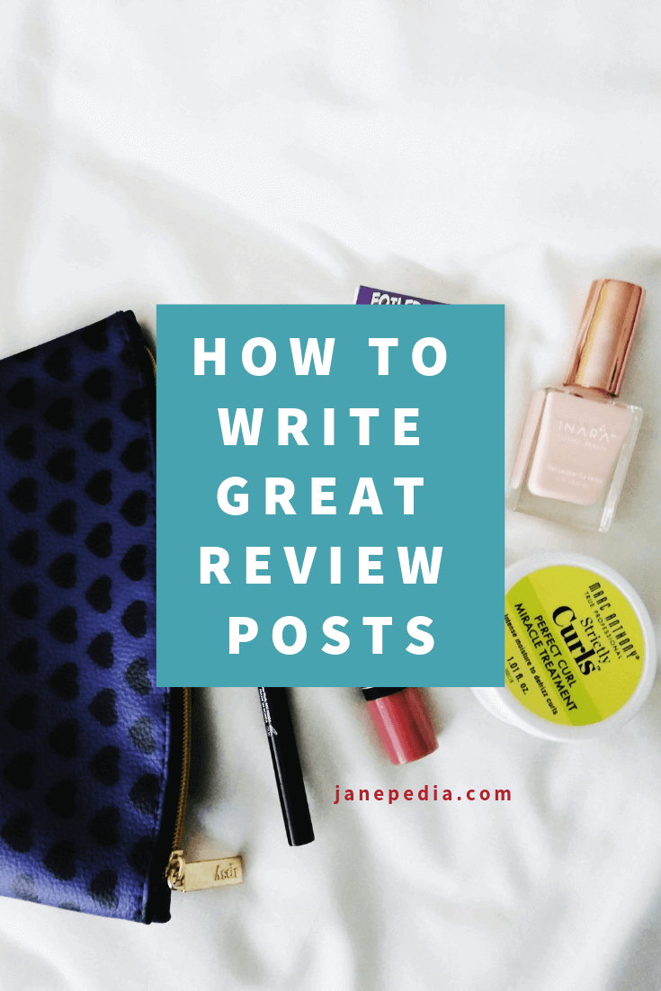 Post thumbnail for How to write great product reviews