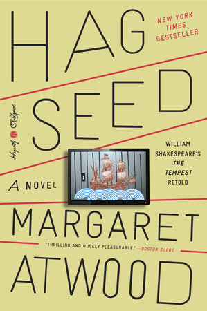 Post thumbnail for Hag-Seed // my first impression of Margaret Atwood