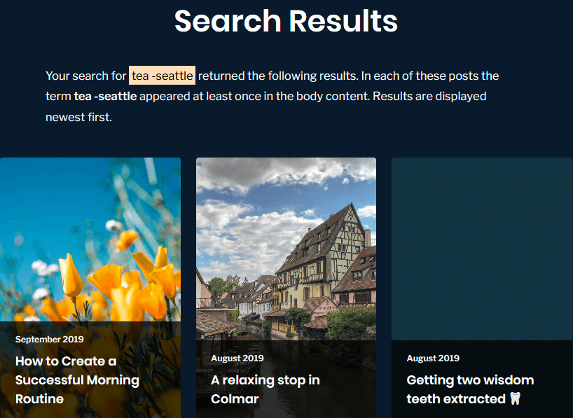 Hey Georgie: Search results for tea -seattle